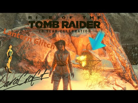 rise of the TOMB RAIDER 20 year celebration_Lantern glitch |