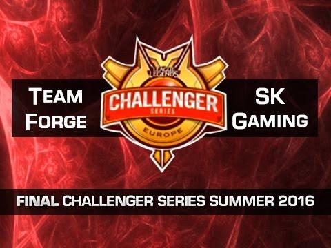 Team Forge vs SK Gaming - Partido 4 - FINAL - Challenger Series EU Summer 2016 - Español
