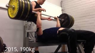 Journey to 200kg bench press