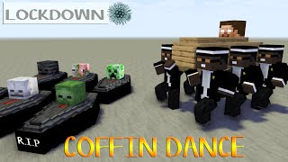 MONSTER SCHOOL : COFFIN DANCE COMPILATION Challenge - Minecraft Animation