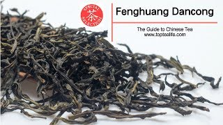 Different types of Fenghuang Dancong tea