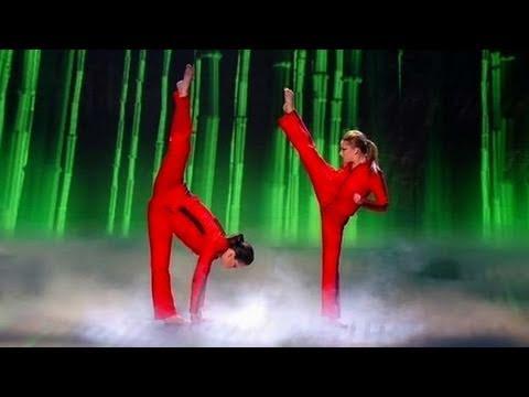 Bruce Sistaz - Britains Got Talent Live Semi-Final - itv.comtalent - UK Version