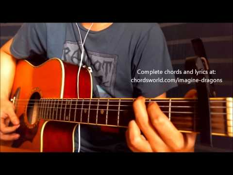 Monster Chords by Imagine Dragons - How To Play - chordsworld.com