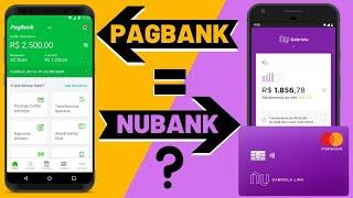 PAGBANK igual NUBANK ? Nova Conta Bancária digital TAXA ZERO PagSeguro