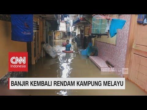 Banjir Kembali Rendam Kampung Melayu