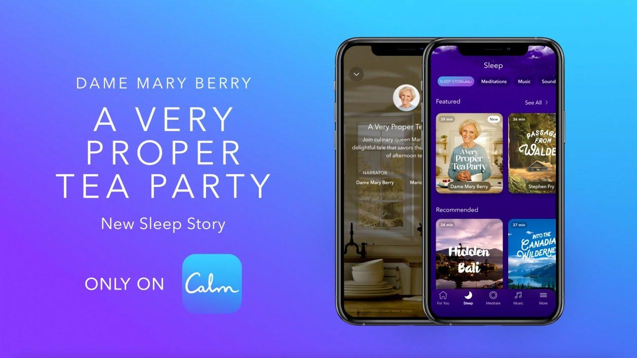 A Very Proper Tea Party with Dame Mary Berry | Calm Sleep Story + #teASMR