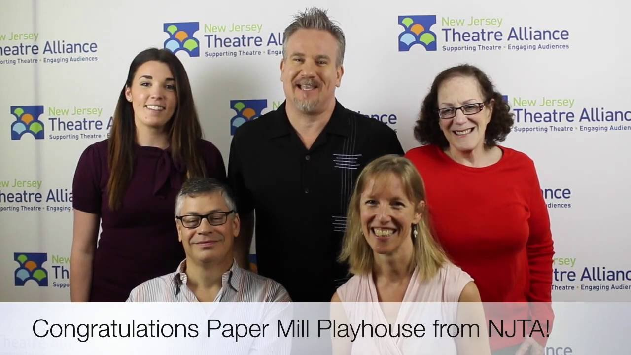 NJ Professional Theater Send Tony Award Wishes to Paper Mill Playhouse