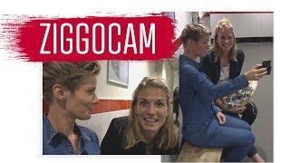 ZiggoCam - Kelly Zeeman: 'Ik krijg nog steeds kippenvel van het Ajax clublied'