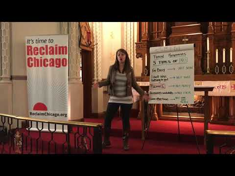 Reclaim Chicago's Canvass Recruitment Training
