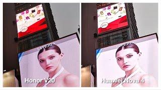 Honor V20 vs Huawei Nova 4 Camera Battle!
