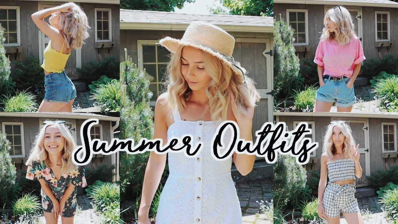 MY GO-TO CASUAL OUTFITS: SUMMER 2018 3