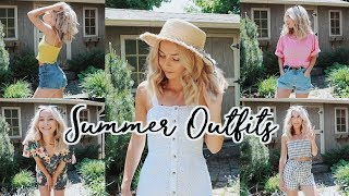 MY GO-TO CASUAL OUTFITS: SUMMER 2018