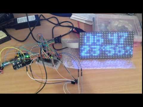 Adafruit 16x32 RGB LED matrix panel | FunnyCat TV