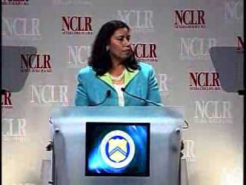 Former U.S. Treasurer Anna Cabral at the 2007 NCLR Annual Conference