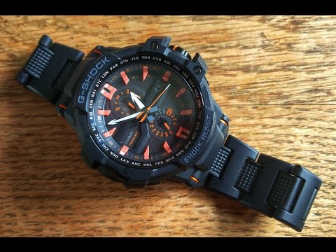 Casio GShock GWA1000FC-1A4review. HD