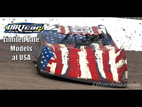 iRacing dirt Limited Late Models: Beatin
