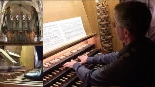 Dietrich Buxtehude Toccata BuxVW 155 Christophe Mantoux à l'orgue de Saint-Séverin, Paris