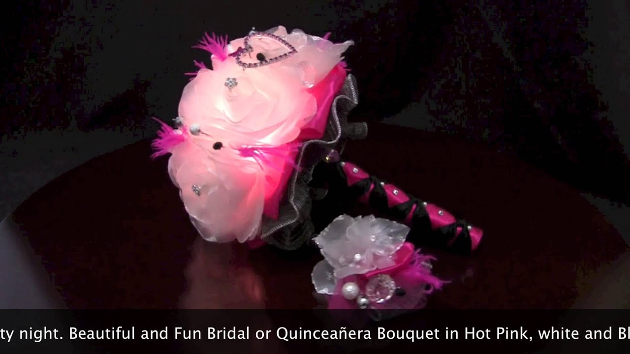 Burlesque Bouquet Led Lights For Quinceaera Or Wedding