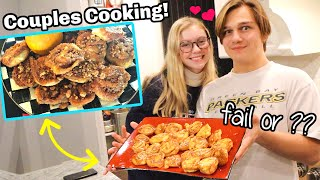 Funniest Cooking Fail! Couples Cooking Caramel Cookie Rolls