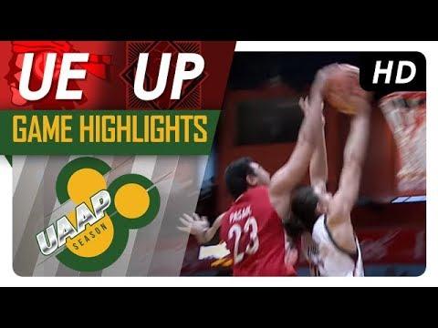 UE vs UP Game Highlights | UAAP 80 Men's Basketball | October 22, 2017