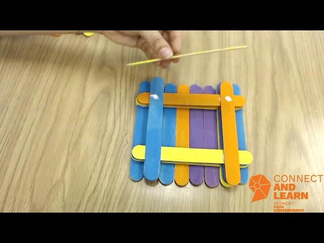 Popsicle Stick Bird Feeder Craft