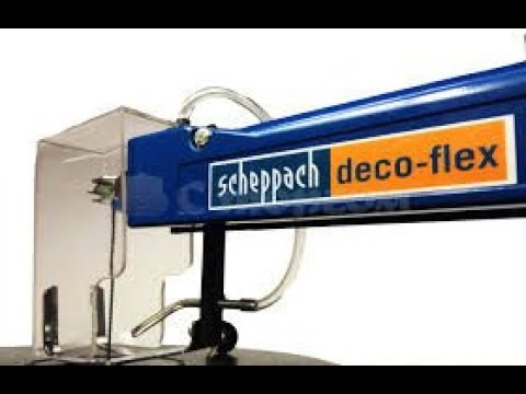 scheppach d coflex scie chantourner pr sentation youtube. Black Bedroom Furniture Sets. Home Design Ideas
