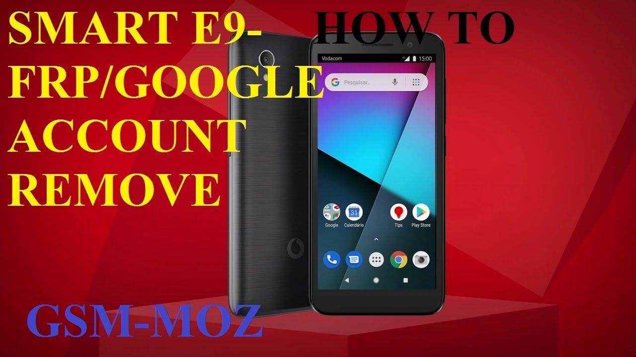 Como Remover Conta Google No Smart E9 VFD527 All Android 8