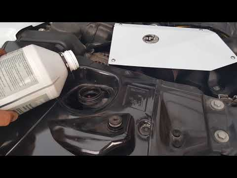 BMW Low Coolant Adding coolant Low Coolant Warning H