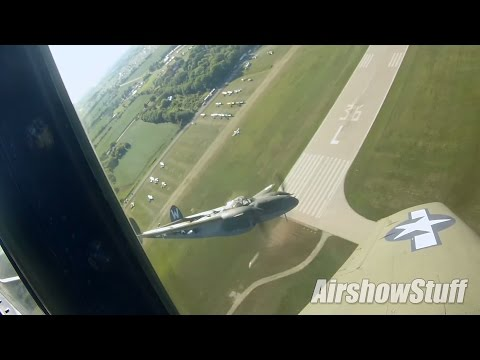 RideAlong! P-51 Mustang Flybys and Heritage Flight (Extended Cut) - EAA AirVenture Oshkosh 2015