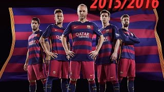 FC Barcelona| All 182 goals: 9 Unofficial and 173 Official - 2015/2016 | HD