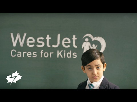 Celebrating 10 years of WestJet Cares for Kids