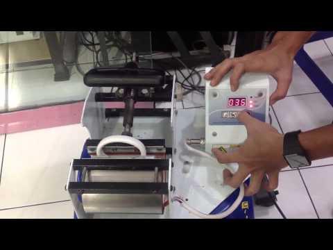 Sablon Digital Cetak Mug - Cara  Menggunakan Mesin Press Mug