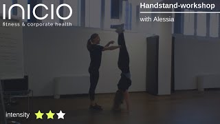 Handstand - workshop: dein weg zum Handstand Live