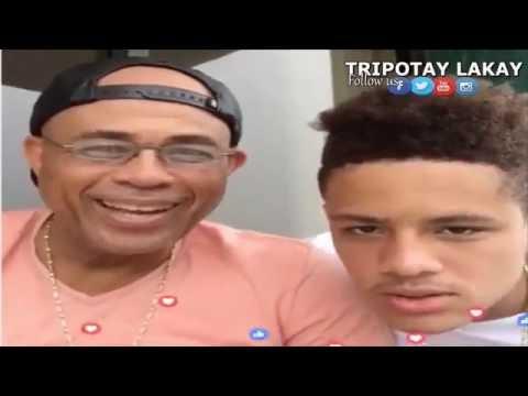 Michel Martelly ansanm ak Michel Yani Martelly ap fe yon ti pale - LIVE