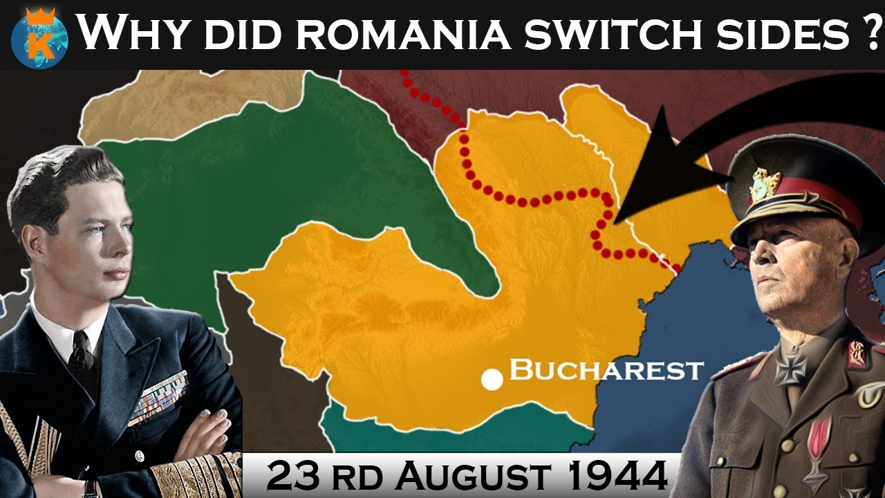 Why did Romania switch sides in WW2