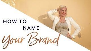 Naming a Business - Ideas and Tips for Choosing Names
