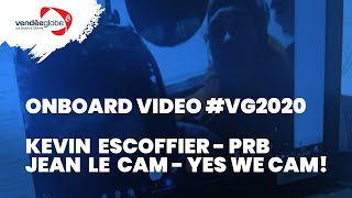 Onboard video - Rescue of Kevin ESCOFFIER (PRB) by Jean LE CAM | YES WE CAM! - 01.12 (2)