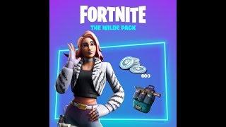 Fortnite New Wild pack Starter Pack (Gameplay)