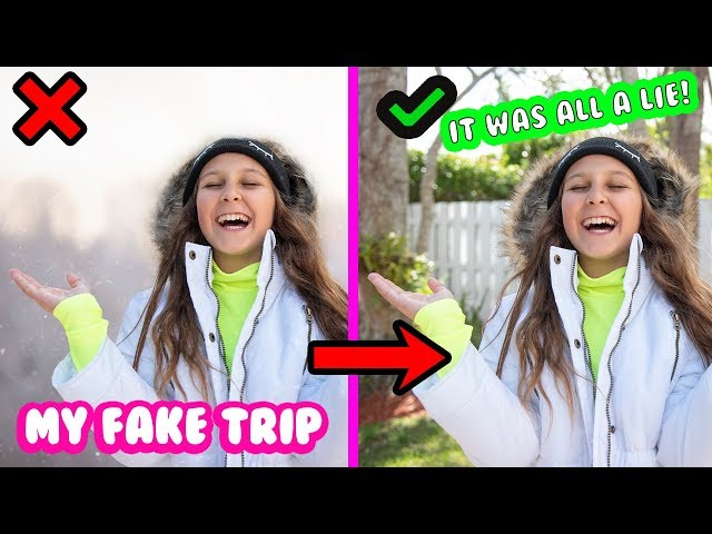 48 HOURS LYING CHALLENGE- MY FAKE TRIP TO COLORADO!