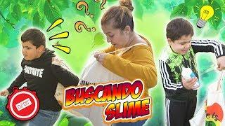 BUSCANDO INGREDIENTES PARA HACER SLIME !! Find Your Slime Ingredients Challenge!!