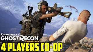 Ghost Recon Wildlands Gameplay Multiplayer 4 Player COOP Walkthrough Part 1 Campaign PS4 1080 60 FPS