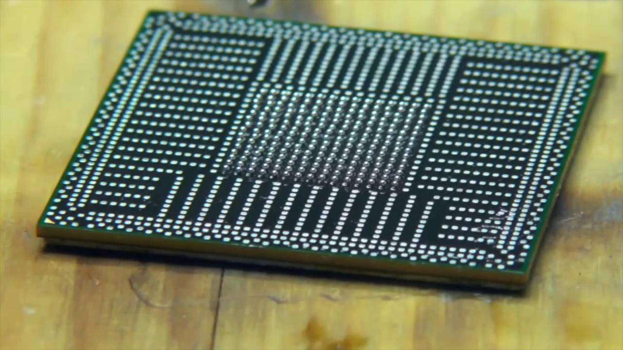PS4 Soldering GPU CPU Reballing BGA APU Reflow BLoD Fix