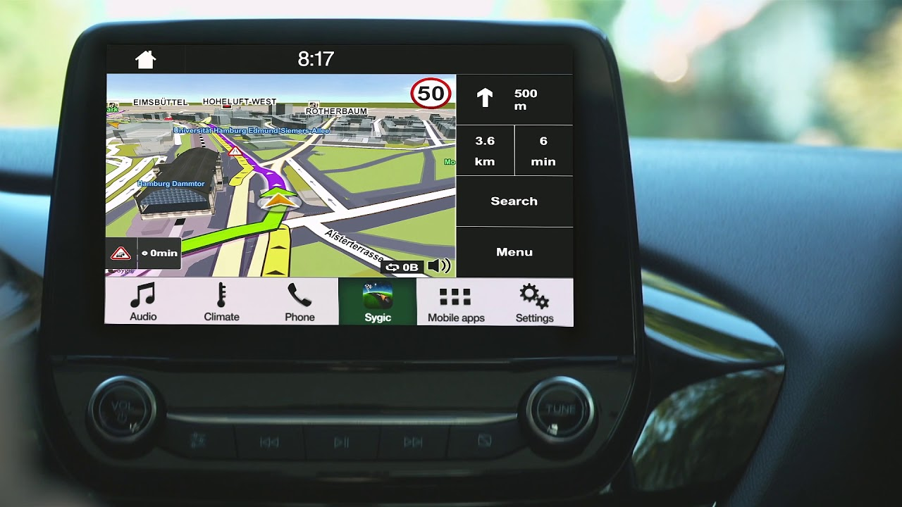 sygic car navigation for ford with sync 3 youtube. Black Bedroom Furniture Sets. Home Design Ideas