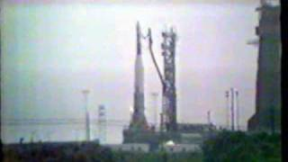 Launch (and loss) of Atlas/Agena 9 (CBS)
