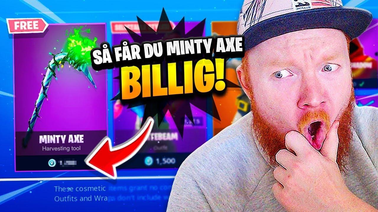 HUR & VART DU KAN FÅ MERRY MINTY PICKAXE *BILLIGT* - SNART I SVERIGE???