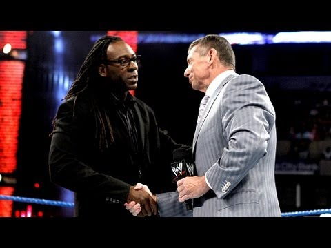 Mr. McMahon reveals that Booker T is the new General Manager of SmackDown: SmackDown, August 3, 2012