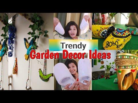 4 Trendy Garden decor ideas|| How to beautify ur Balcony in a budget friendly way|| DIY Decor ideas