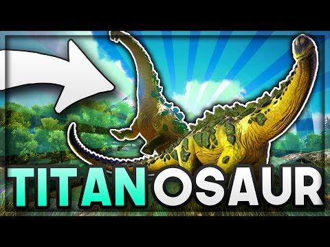 I FOUND A TITANOSAUR?! - ARKMON #8