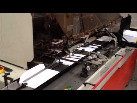Bell & Howell Jumbo Envelope Enclosing Mailing Machine