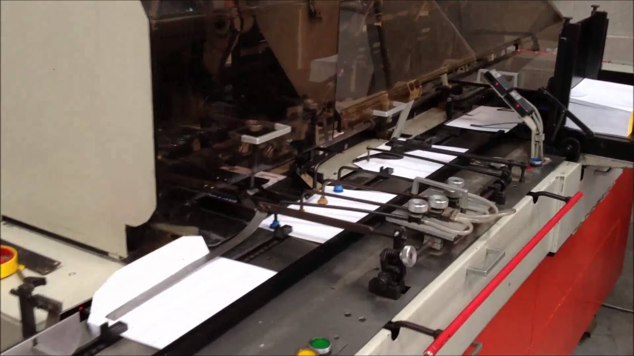 Apparel Machinery Mail: Bell & Howell Jumbo Envelope Enclosing Mailing Machine